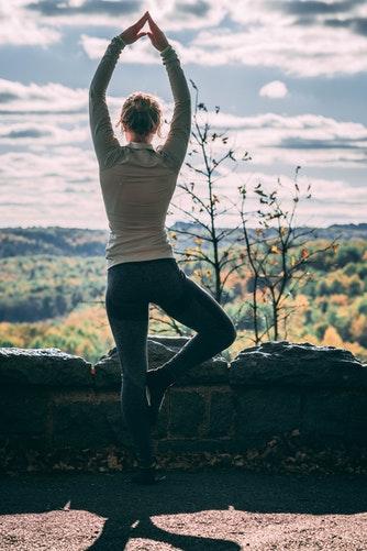 Modern yoga style
