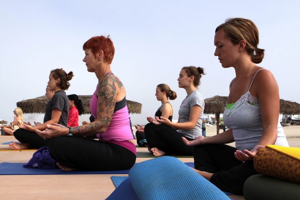 yoga practice in Kuwait