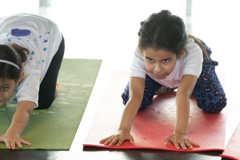 stretch for kids in yoga