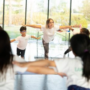 Balance in kids yoga