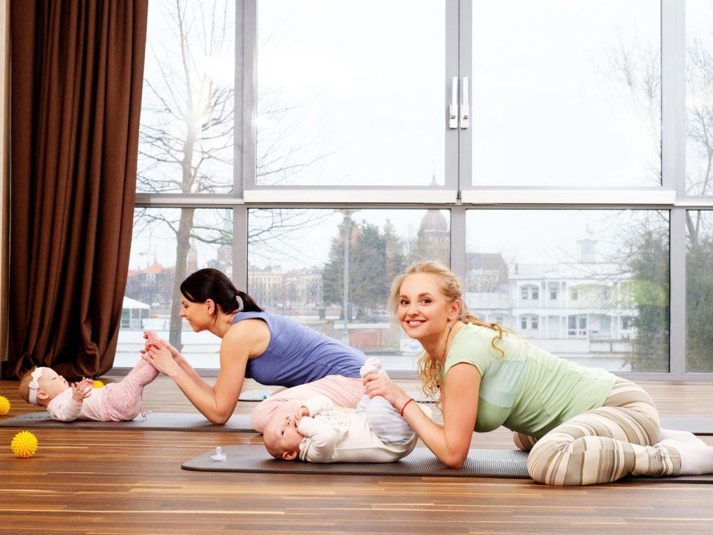 Baby and Yoga Kent